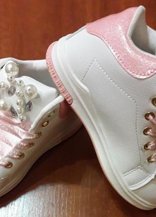 Нежные,красивые и модняшные ботиночки для девочки