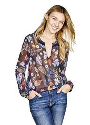 Обворожительная блузочка в цветы