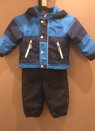 Зимний костюм на мальчика 12-18месяцев