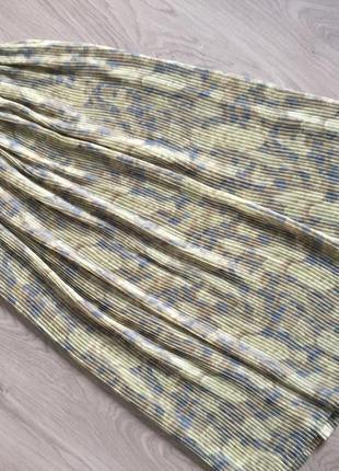 Крутая модная плиссированная юбка