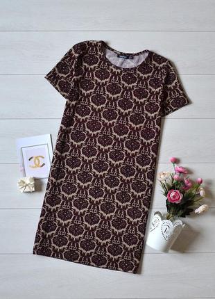 Красиве плаття в орнамент boohoo.