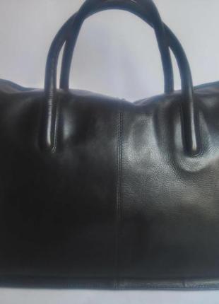 Большая брендовая кожаная сумка radley