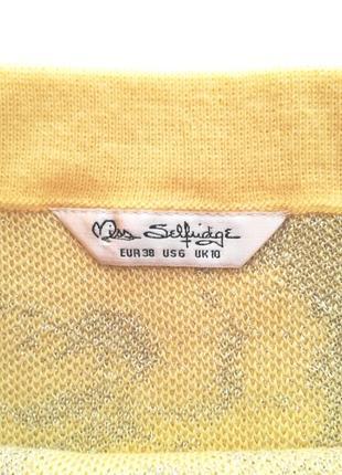 Трикотажная юбка карандаш, бренд miss selfridge2 фото