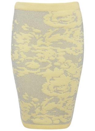 Трикотажная юбка карандаш, бренд miss selfridge3 фото