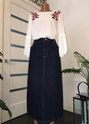 Джинсовая юбка. m&s