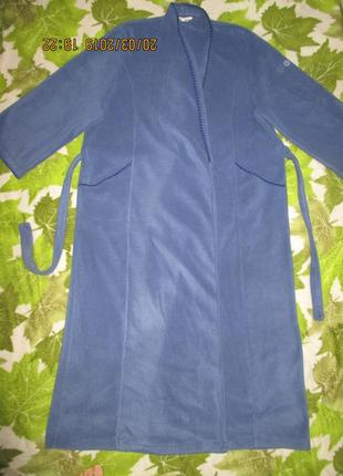 David nieper*xl-3xl*длинный в пол халат,пог-70см