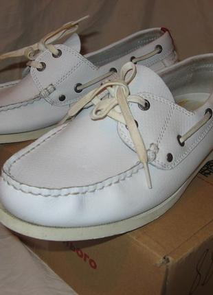 Мокасины туфли из натуральной кожи kickers оригинал