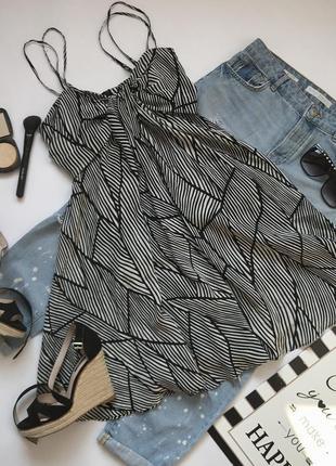 Шелковое платье сарафан на тонких брительках от allsaints размер m-l/12/40.