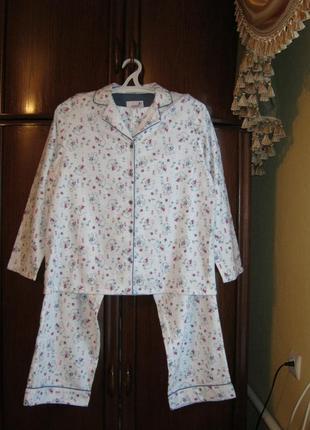 Пижама bhs, 100% хлопок-байка, размер 14