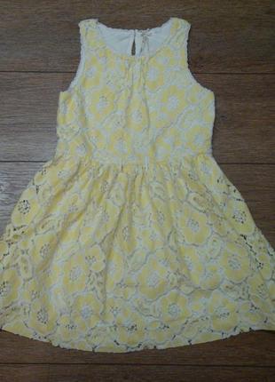 Красивое платье next 9 лет