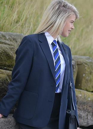 Брендовый подростковый школьный пиджак жакет блейзер badger pmg schoolwear этикетка