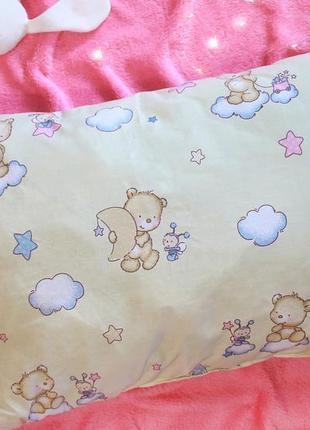 Подушка для детей мишка 60х40