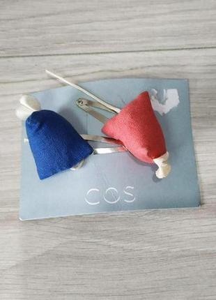 Оригинальный набор заколок для волос от бренда cos разм. one size