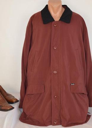 Брендовая мужская утепленная дышащая куртка douglas thro-tex casual большой размер