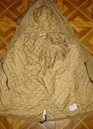 Курточка парка camaieu р.8/388 фото
