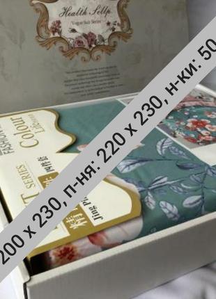 Оригинальный комплект постельного белья евро премиум3