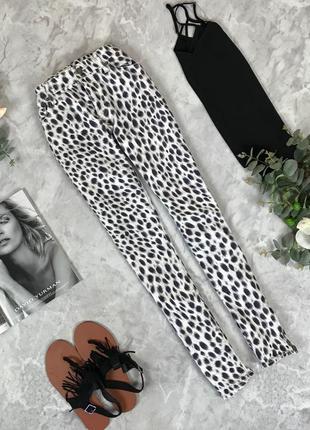 Трендовые джинсы с леопардовым принтом  pn1912056  denim&supply