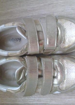Кожаные ортопедические кроссовки woopy турция 32 р.