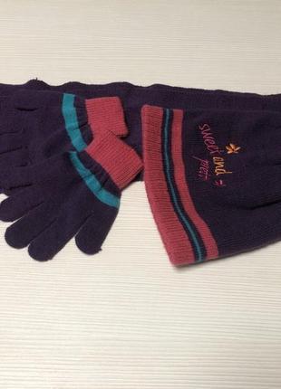 Комплект (шапка, шарф, перчатки) lupilu германия