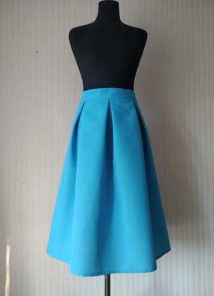 Новая бирюзовая юбочка на весну, лето, разные размеры и цвета.