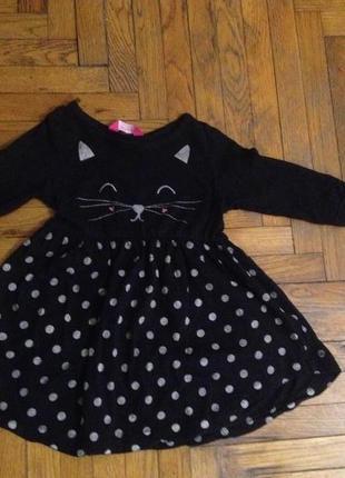 Платье повседневное котик