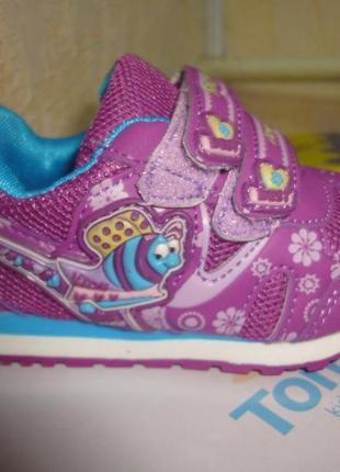 Кроссовки 21-24 р. alemy kids на девочку. весенние, осенние, кросівки, фиолетовые