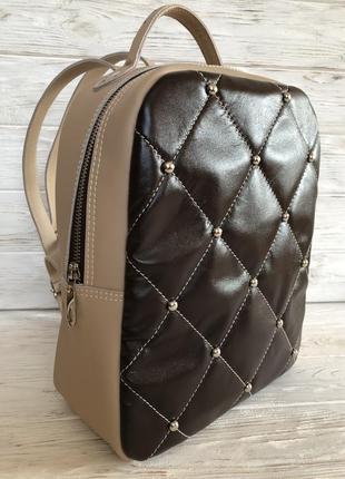 Рюкзак ручной работы из итальянской кожи