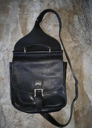 d1483401df0d Кожаная сумка на грудь, сумка-слинг 3в1 с быстрым доступом , made in italy