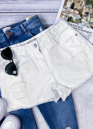 Новые стильные шорты из потертостями