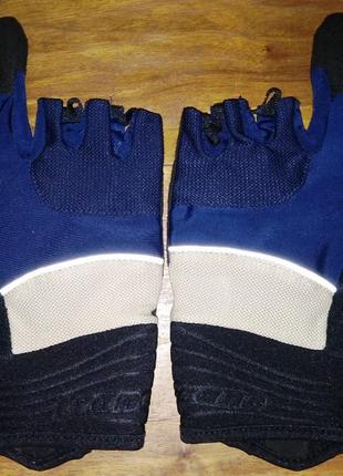Спортивные перчатки crane, два пальца