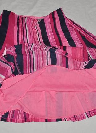 Летняя  и яркая юбка 12 размера фирмы  new yorker