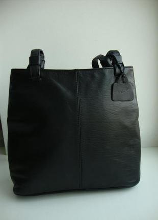 Шкіряна італійська сумка vera pelle