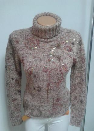 Теплый свитерок 34р