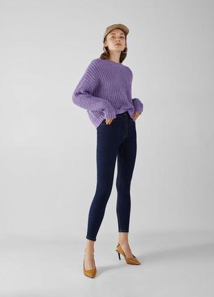 Шикарные джинсы с высокой посадкой bershka, 38р, оригинал, испания