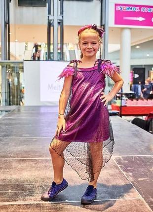 Стильна асиметрична сукня