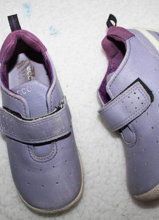 Кожаные туфли фирмы ecco 25 размера по стельке 15,5-16 см.