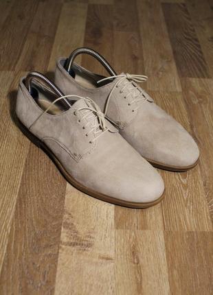 Шикарні туфлі vagabond туфли кожа  замша