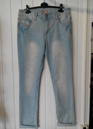 Супер женские джинсы с высокой посадкой  samba от.fitt