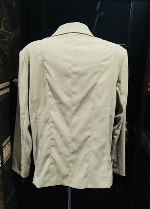 Шикарный пиджак с накладными карманами на подкладке от kingfield 52-54 р2 фото