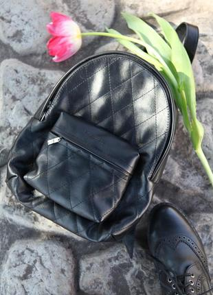 Рюкзак кожаный, шкіряний наплічник