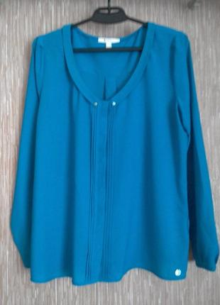 Esprit оригинал!яркая блузка 50-52 укр размер