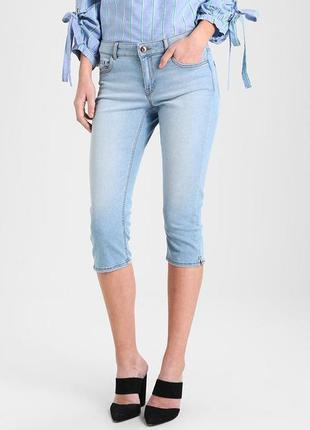 Голубые джинсовые капри blind date 16/44  размер
