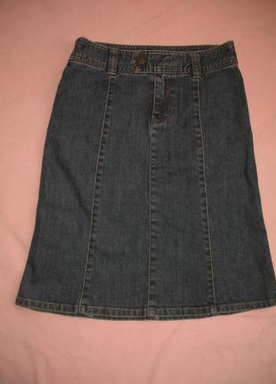 Юбка джинсовая размер 34