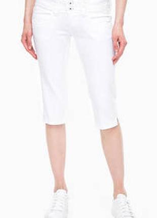Белые капри, бриджи tommy hilfiger на 50-52 размер