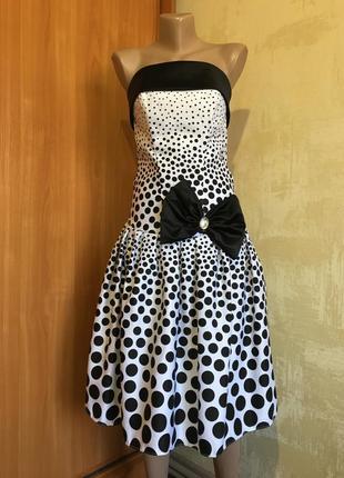 Стильное выпускное,коктейльное платье бюстье!!