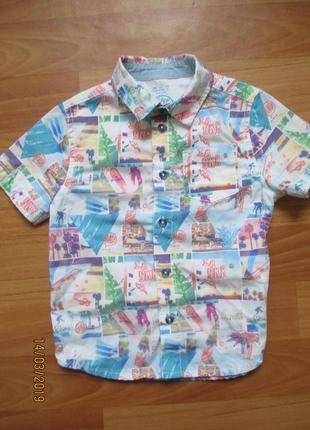Рубашка f&f на 1,5-2,0 года