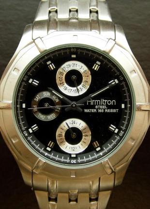 Armitron мужские часы 4 циферблата из сша мех. japan miyota