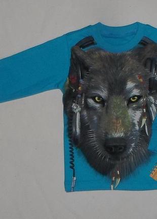Детский джемпер волк