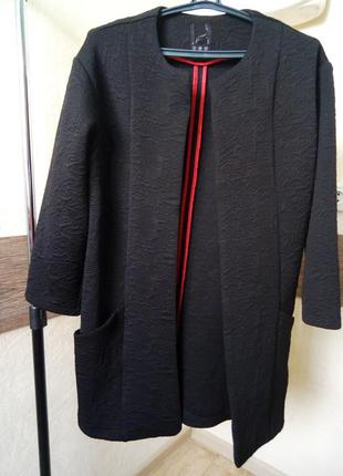 Фактурный кардиган пиджак