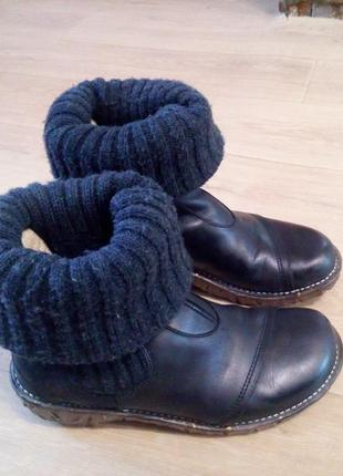 Шшкіряні черевики(ботинки) el naturalista 39